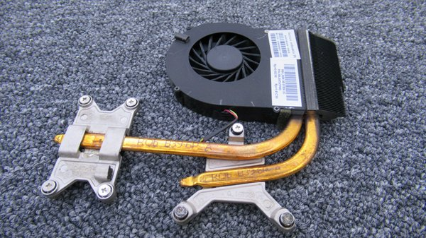 Enfriador usado para trabajo. Enfriador para HP Pavilion DV6-3000 DV7-4000 DV6 DV7 con ventilador 603691-001 622033-001 637610-001