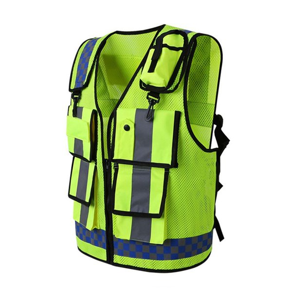 new arrival High Visibility Running Reflective Vest Working Clothes Motorcycle Cycling Sports Outdoor Reflective Safety Clothes