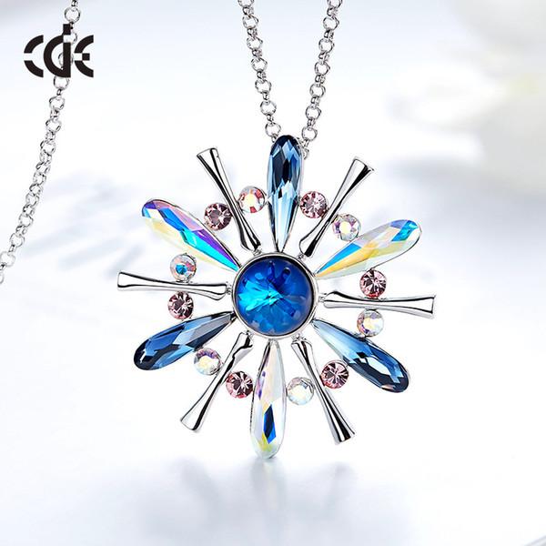 Swarovski kristali ile sonbahar ve kış aylarında yeni stil kazak zinciri