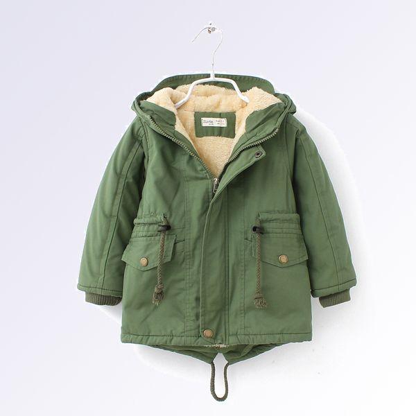 Children's Jacket for Girls Boys Coat Kids Windbreaker Winter Heavyweight Outerwear Warm High Qulity Costume for Kids 3 4 6 8 Y