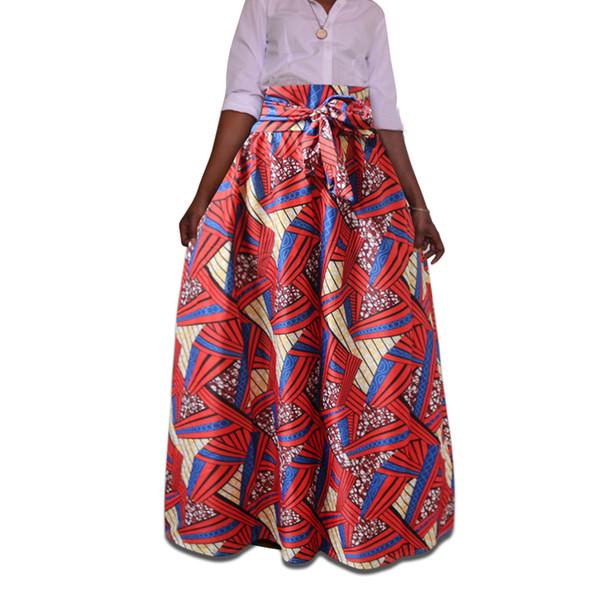 b1e8c477b9 fashion print skirt best price clothing summer national style dahiji  totemic print Ankara female printing kimono