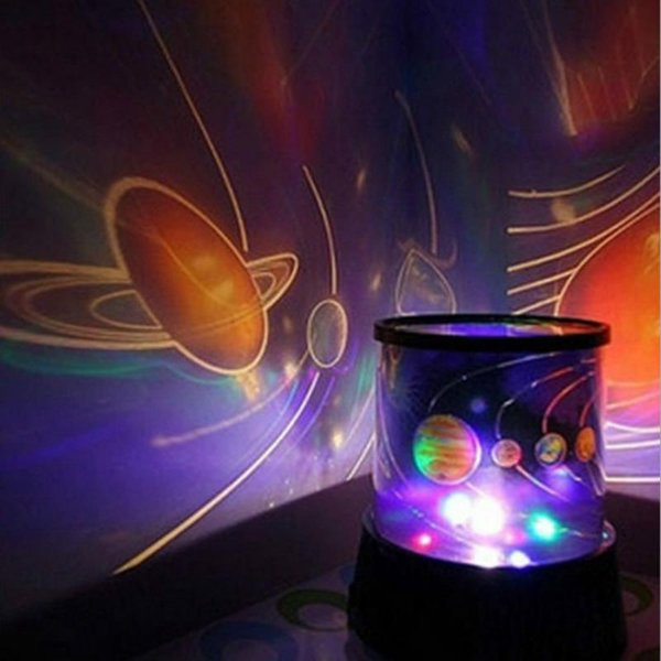 New LED Night Light Projector Starry Sky Star moon Master Children Kids Baby Sleep Romantic colorful Led USB Projection lamp With color box