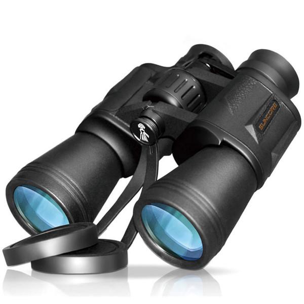 20x50 HD Potente visión nocturna binocular para la caza Camping Impermeable Gran gran angular Senderismo al aire libre