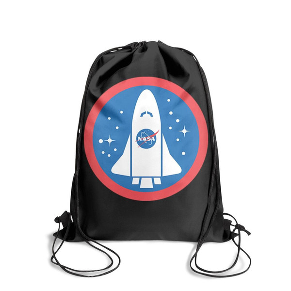 Drawstring Sports Backpack NASA Space Launchespersonalized daily limited edition Pull String Backpack