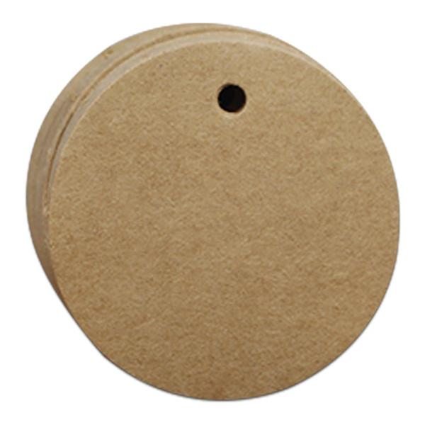 Diametro 5 cm rotondo marrone