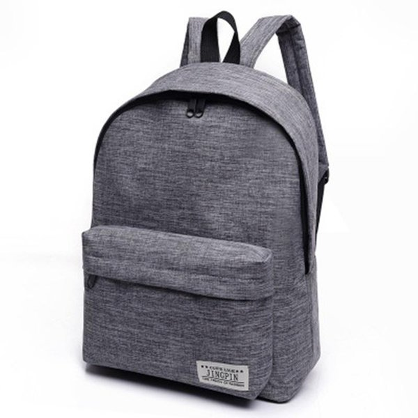 Nice Brand Canvas Men Women Backpack College Students High Middle School Bags For Teenager Boy Girls Laptop Travel Backpacks
