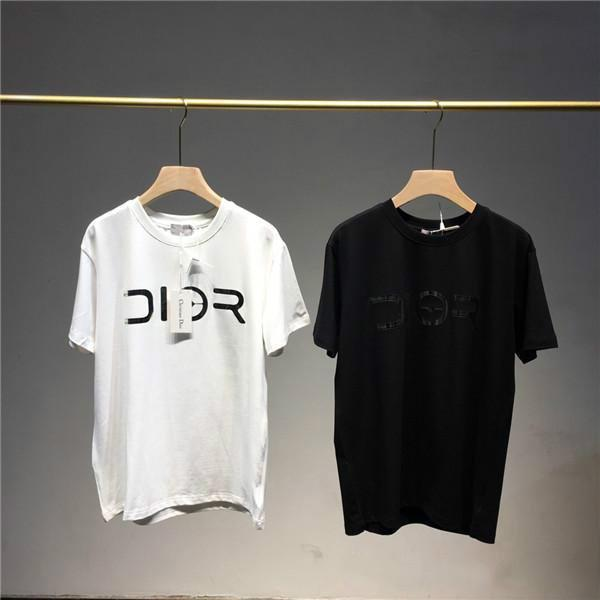 best selling 19SS Paris JADIO AND SORAYAMA Laser Letter Lovers Cotton Tshirts Short Sleeve Summer Tee Breathable Vest Shirt Streetwear Outdoor T-shirt