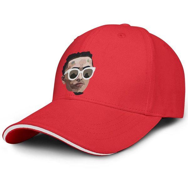 Adjustable Fits Men Women visor cap Lil Pump face glasses hip hop custom baseball hats Dance hats 100% Cotton