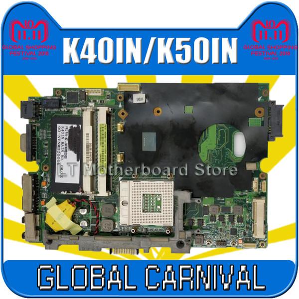 K40IN K50IN Motherboard für Asus X5DIN K40IP K50IP Laptop Motherboard K50IN Mainboard Test 100% ok