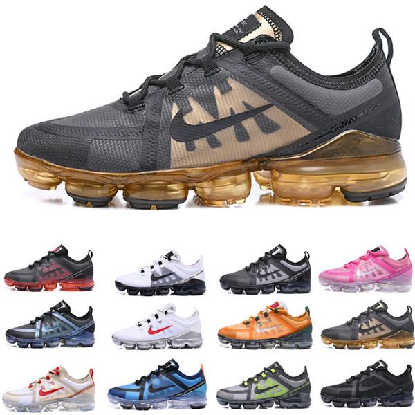 2019 Run Utility Men Laufschuhe Beste Qualität Schwarz Anthrazit Weiß Reflect Silver Discount Schuhe Sport Sneakers Größe 40-45