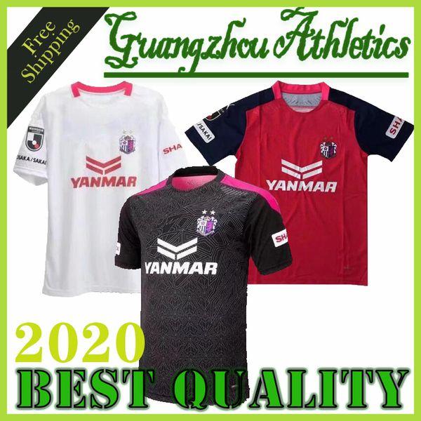 2020/2021 Cerezo Osaka calcio maglia rosa a casa bianco assente 20/21 Toshiyuki Takagi Souza Hiroshi Kiyotake Kenyu Yoichiro Kakitani calcio shi