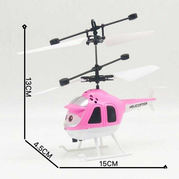 Mini remote controlled helicopters Funny Children's toy Electronic Infrared Induction Aircraft best package free shipping