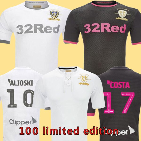 best selling Leeds United 100TH anniversary Centennial limited edition centenary soccer jersey ROOFE BAMFORD ALIOSKI jerseys CENTENARY football shirts