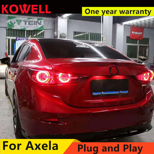 Car Tail Lights >> 2019 Wholesale Car Styling For Mazda 3 Tail Lights 2015 Mazda3 Axela Led Tail Light Dynamic Turn Signal Rear Lamp Drl Brake Park Sign From Suozhi1990
