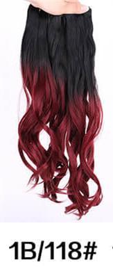 1B / cabelo 118 onda naturais 3pcs