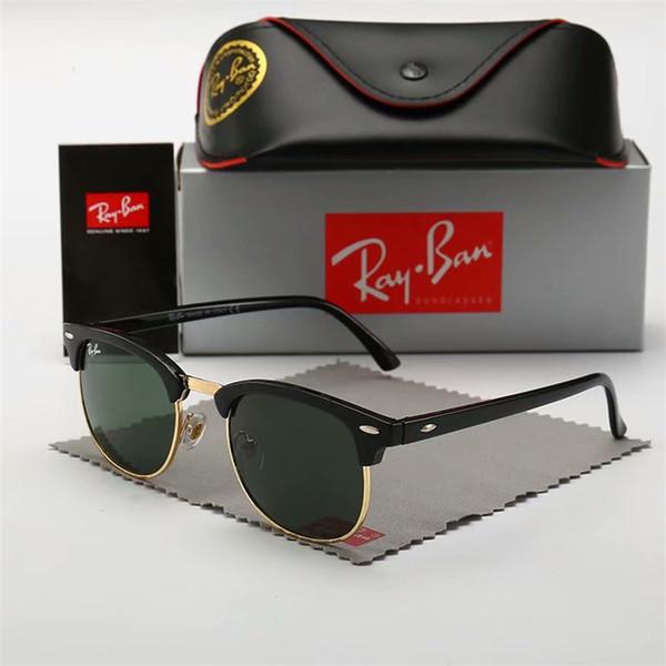 New Fashion Designer Sonnenbrille Brille abnehmbare Abdeckrahmen Zier Brillen uv400 Schutzglas Top-Qualität einfach