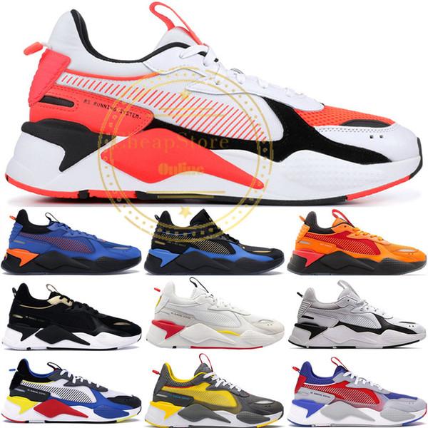 Melhor Qualidade RS-X Brinquedos Reinvenção Mens Running Shoes Marca Designer Transformadores Hasbro Casual Das Mulheres RS x Tênis Tamanho 36-45