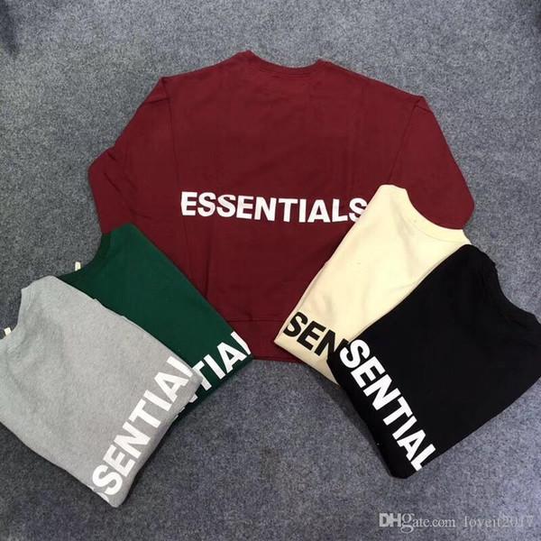 Marque Nouvelle Peur De Dieu À Capuche Hip Hop Rue Sport Hommes Designer Hoodies De La Mode Essentials Pull Sweat