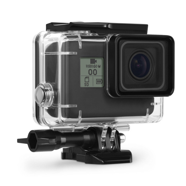 Housing Case for GoPro Hero 7 / 6 / 5 Black/ GoPro HERO Waterproof Case Diving Protective Housing Shell 45m with Bracket Accessories