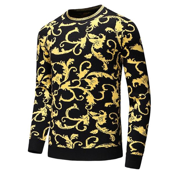 2019 menswear maglione maglione di design marchio di abbigliamento maschile maglione serpentina ricamato appT26 menswear manica lunga progettista felpa d'inverno