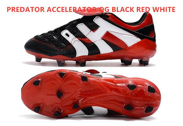مسرع OG أسود أحمر أبيض