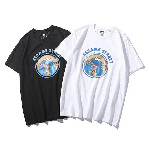Créateur de mode T-shirt femme été T-shirt amoureux nouvelle 2019 imprimé à manches courtes Haute qualité couture chaude vente7