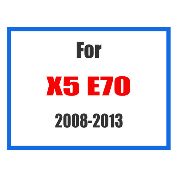 For X5 E70 08-13
