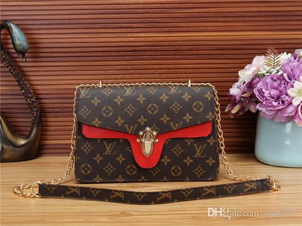 2018 stilleri Çanta Ünlü Tasarımcı Marka Adı Moda Deri Çanta Kadın Bez Omuz Çantaları Bayan Deri Çanta Çanta purse801
