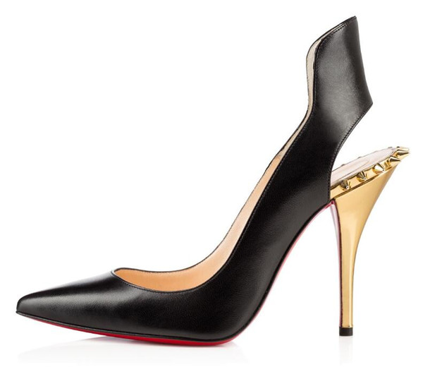 separation shoes ba302 e915f 2019 Christian Louboutin CL Women Red Bottom Pumps High Heels Peep Toe  Stiletto Dress Shoes Platform Patent S Leather Rose Red Silver Plus Q1 From  ...