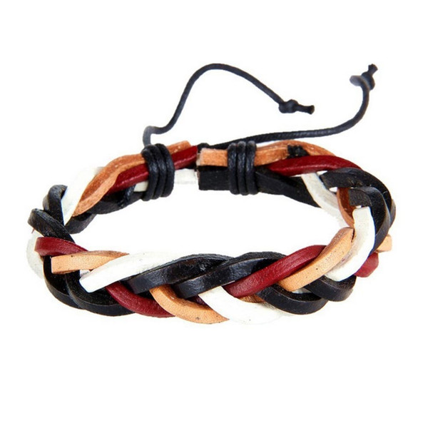 Vintage Leather Bracelets For Women Punk Leather Bracelet & Bangle Male Wristband Wrap Men Jewelry Drop Shipping