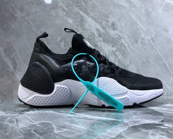 2019 HUARACHE E.D.G.E. TXT QS Runner shoes for Men and Women Sports Shoes White Black Size 36-45 With Box