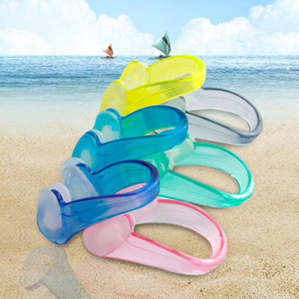 best selling Unisex Nose Clip Soft Silicone Swimming Nose Clips Waterproof Nose Clip for Children Adults Water Sports Pool Accessories