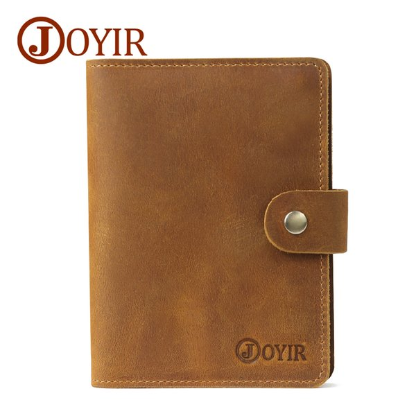 Passport Cover Travel wholesale Bag Credit Factory Best business Card clip holders Leather Genuine Men checkbook Wallet Vintage Women bank