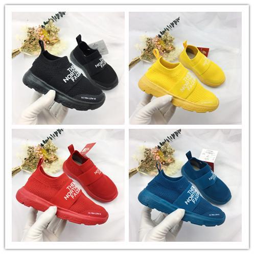 The North face Concepteur de luxe Speed Trainer the North Socks Chaussures de sport en maille extensible - Noir blanc Sneaker Couples Chaussure pour enfants Casual euro 22-35