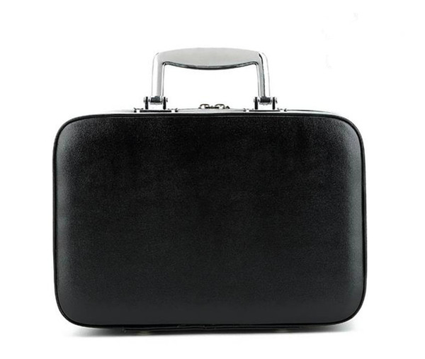 New shelves high-end portable cosmetic case cosmetic bag portable classic logo pattern luxury model C makeup organizer