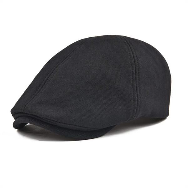 wholesale Cotton Flat Cap Men Women Six Panel Ivy Caps Retro Newsboy Caps Soft Breathable Cabbie Gatsby Ivy Hat 320