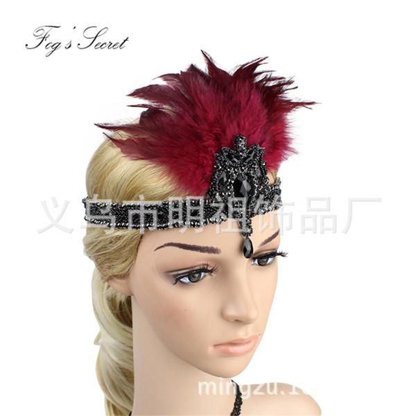 Haimeikang Femmes Turban Serre-Tête Imprimés Floraux bandeaux élastique cheveux bandes Gum H