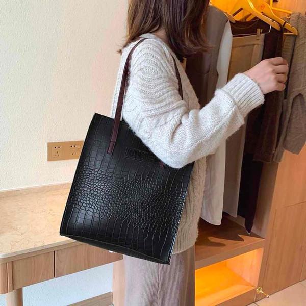 Crocodile Pattern Women Handbag Leather Ladies Hand Bags Luxury Handbags Women Bags Designer Shoulder Bag For 2020 #t1g