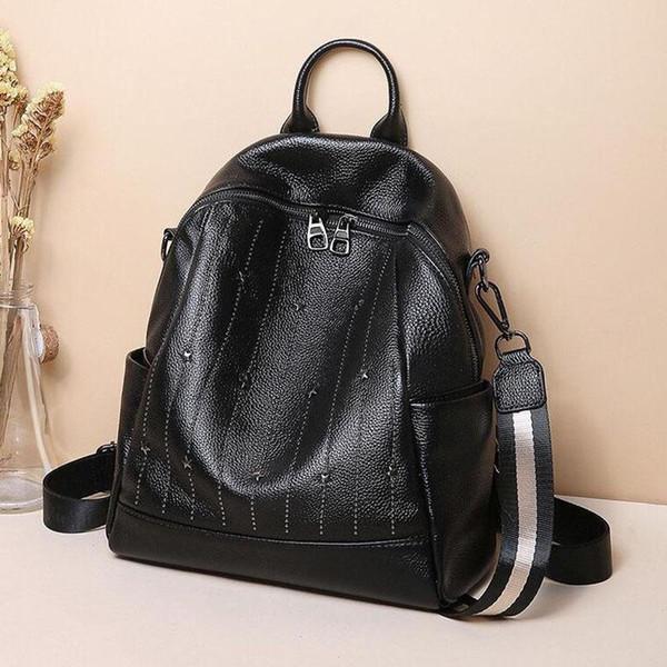 New style shoulder bag designer fashion luxury design leather production of large capacity durable Backpack number:P1114