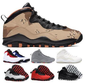 2019 10 10s Basketball Shoes Sneakers Men Tinker Orlando Class Of 2006 Cement Chicago Steel Stealth X Black Man Discount Baskets Ball Shoes