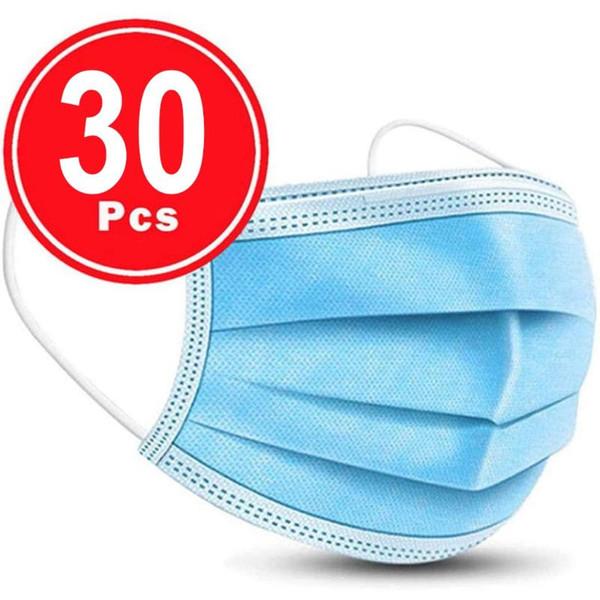 30pcs синий