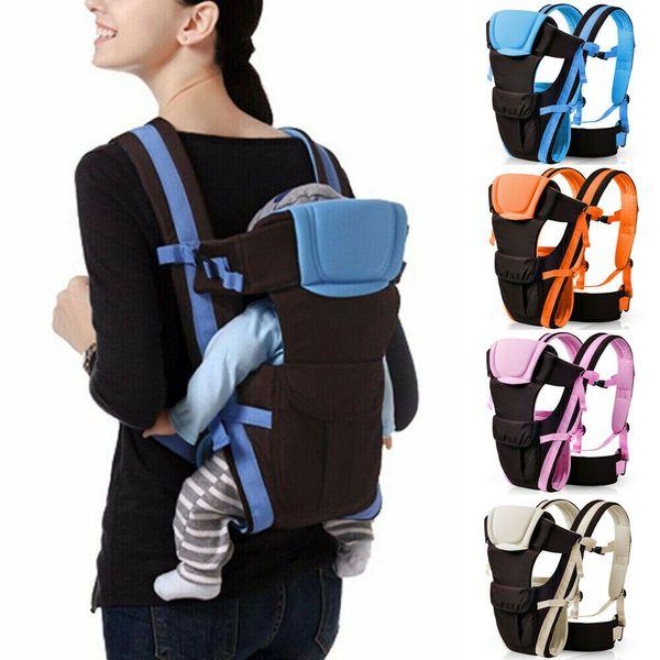 Newborn Infant Baby Carrier Breathable Ergonomic Adjustable Wrap Sling Backpack