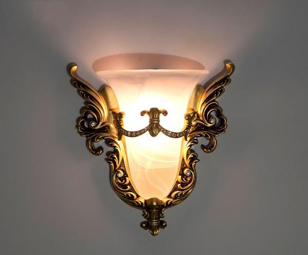 Acheter Rétro Lampe De Mur Style Rustique Lumière Classique Lampes De Mur  Pour Chambre Hôtel Escalier Allée Lumières Applique Murale Intérieur Lampes  ...