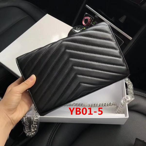 YB01-5 Cadena De Plata De Oveja Negra