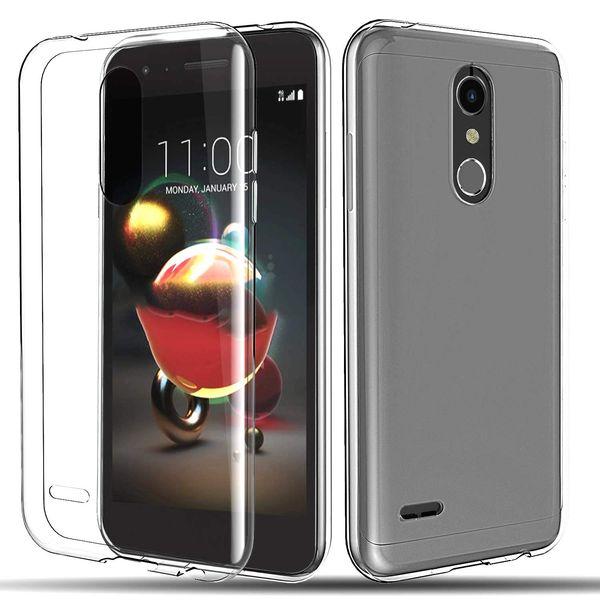 Clear Soft TPU Cases Cover for LG G2 G3 G4 G5 G6 G7 V10 V20 V30 V40 Q6 Q7 Q8 K10 K8 K7 K4 2018 2017 Transparent Silica gel Cell Phone Case