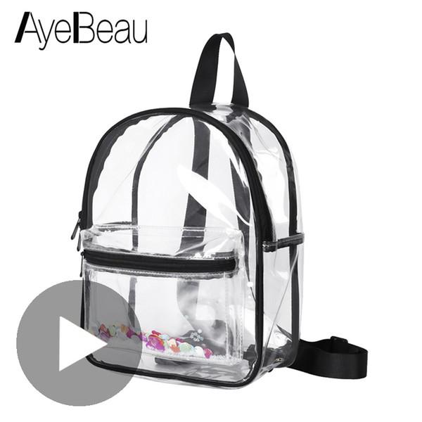 Children Backpack Schoolbag Kid Clear Transparent School Bag For Girl Boy Child Teenager Baby Back Pack Scool Book Kindergarten