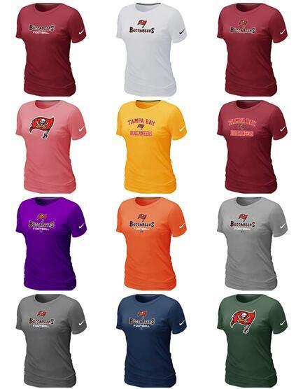 New Trend Tampa Bay Women Buccaneers Боковая линия Legend Pro Line от Fanatics Ретро футболка с полихромным логотипом