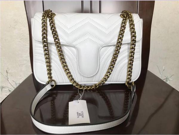Blanco/oro de la cadena de