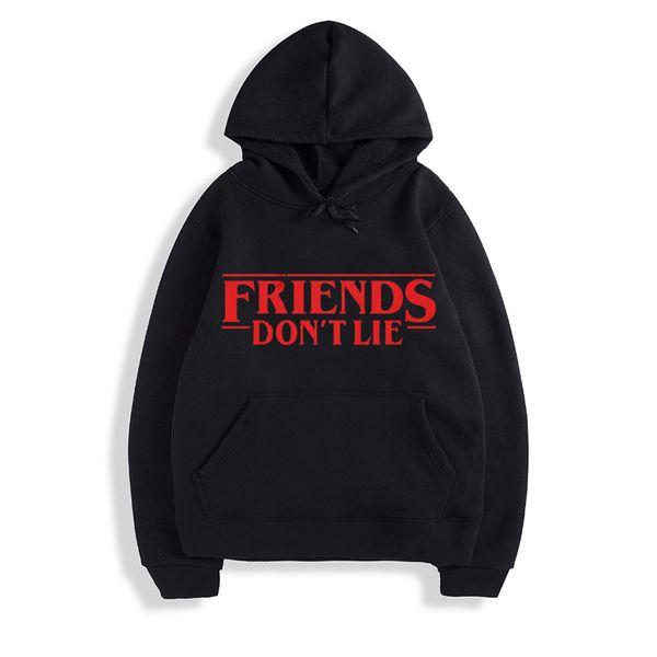 Friends Dont Lie Printed Kids Hoodie UK Fashion Hooded for Boys Girls Top Hoody