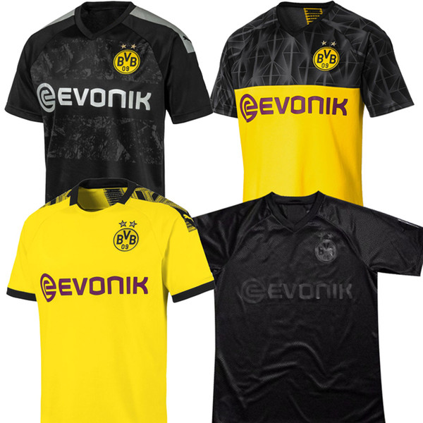 19 20 Bvb Borussia Dortmund 110th Soccer Jersey Hazard 2019 2020 Football Shirt Sancho Reus Hummels Brandt Paco Men Soccer Shirts Black Yellow Buy At The Price Of 14 96 In Dhgate Com Imall Com